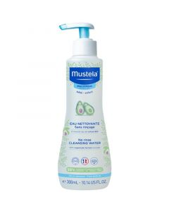 Mustela Βρεφικό Νερό Καθαρισμού Με Βιολογικό Αβοκάντο Για Κανονικό Δέρμα 300ml
