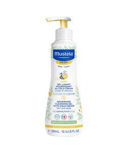 Mustela Βρεφικό Αφρόλουτρο Για Το Ευαίσθητο Και Ξηρό Δέρμα Για Σώμα & Μαλλιά 300ml