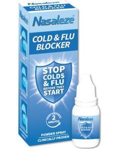 Nasaleze Cold & Flu Blocker 800mg Φυσική Ασπίδα Κατά των Ιώσεων και του Κοινού Κρυολογήματος (200 Εφαρμογές)