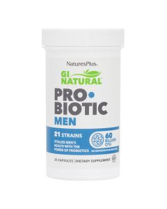 Natures Plus GI Natural Probiotic Men Προβιοτικά Για Άνδρες 30caps