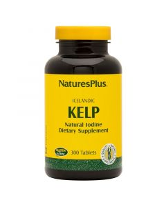Natures Plus Kelp 150mg Natural Iodine Συμπλήρωμα Με Φύκι Kelp 300 Tabs