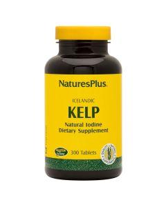 Natures Plus Kelp 150mg Natural Iodine Συμπλήρωμα Με Φύκι Kelp 300 Tabs