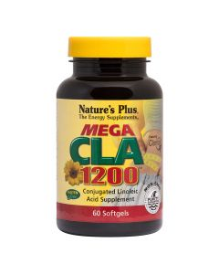 Natures Plus Mega CLA 1200 mg 60 μαλακές κάψουλες