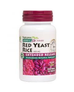 Natures Plus Extended Release Red Yeast Rice 600mg 30 Φυτικές Κάψουλες