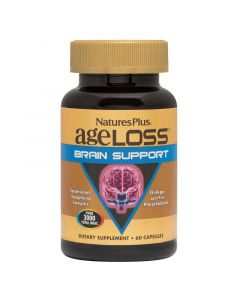 Natures Plus Ageloss Brain Support 60 caps