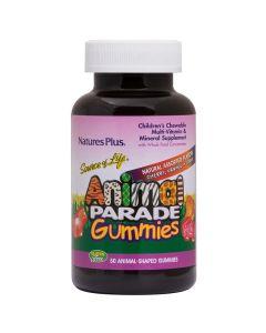 Nature's Plus Animal Parade Gummies Πολυβιταμινούχο Συμπλήρωμα Για Παιδιά 50 Μασώμενα Ζελεδάκια