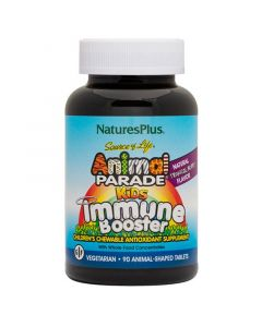 Nature's Plus Animal Parade Kids Immune Booster Πολυβιταμίνες Για Παιδιά 90tabs