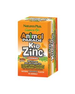 Nature's Plus Animal Parade Kidzinc 90 παστίλιες