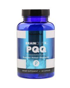 Nature's Plus BrainCeutix PQQ - Τόνωση & Προστασία Των Εγκεφαλικών Κυττάρων 60 Κάψουλες
