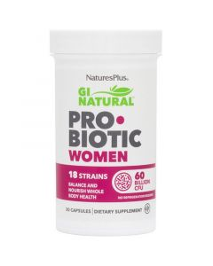 Nature's Plus Gi Natural Probiotic Women Προβιοτικά Για Γυναίκες 30caps