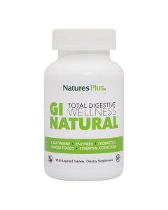 Natures Plus Gi Natural Για Την Υγιή Λειτουργία Του Πεπτικού Συστήματος 90 tabs