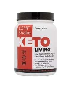 Natures Plus Keto Living LCHF Shake Chocolate 675gr