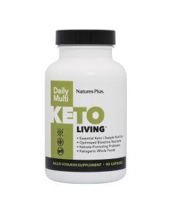 Natures Plus Keto Living Daily Πολυβιταμινούχο Συμπλήρωμα Διατροφής 90caps | Dpharmacy.gr