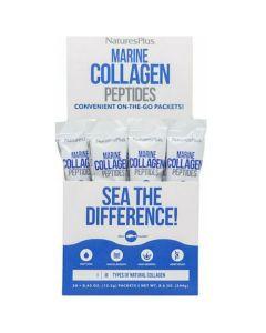 Natures Plus Marine Collagen Peptides Σκεύασμα Που Ενισχύει Την Ελαστικότητα Του Δέρματος 20 Sticks x12.2g
