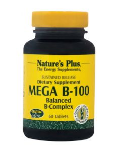 Natures Plus Vitamin Mega B-100 60 Tαμπλέτες