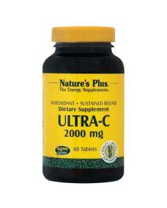 Natures Plus Ultra-C 2000mg Συμπλήρωμα Διατροφής Για Την Απορρόφηση Της Βιταμίνης C 60tabs