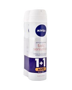 Nivea Πακέτο Promo Set 1+1 Δώρο Γυναικείο Αποσμητικό Spray Talc Sensation 2x150ml