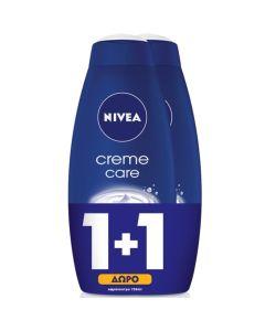 Nivea Πακέτο Promo Set Creme Care Σετ 1+1 Δώρο Κρεμώδες Ενυδατικό Αφρόλουτρο 2x750ml