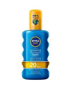 Nivea Sun Αναζωογονητικό Αντιηλιακό Spray SPF20 200ml