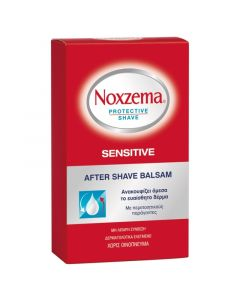Noxzema Protective Shave Sensitive After Shave Balsam Για Μετά Το Ξύρισμα 100ml