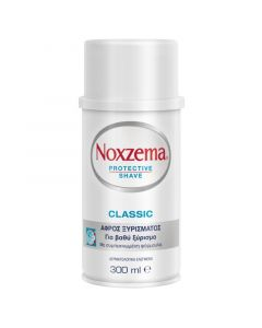 Noxzema Protective Shave Classic Αφρός Ξυρίσματος Για Βαθύ Ξύρισμα 300ml