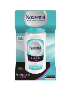 Noxzema Roll On Invisible Her Γυναικείο Αποσμητικό 48h Ενάντια Στα Λευκά Σημάδια 50ml