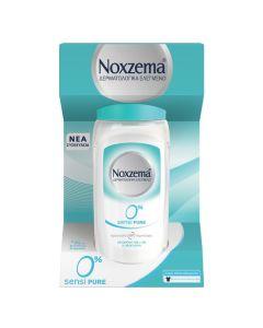 Noxzema Roll On Sensi Pure 0% Αποσμητικό Για Ευαίσθητες Επιδερμίδες 48ωρη Προστασία 50ml