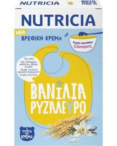 Nutricia Κρέμα Βανίλια Με Ρυζάλευρο 250gr