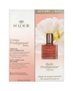 Nuxe Πακέτο Creme Prodigieuse Boost Κρέμα Μεταξένιας Υφής Πολλαπλής Δράσης 40ml & Δώρο Huile Prodigieuse Florale Ξηρό Λάδι 10ml