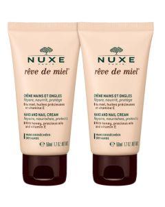 Nuxe Πακέτο Promo Set Special Offer Reve de Miel Crème Mains Et Ongles Σετ Κρέμα Χεριών & Νυχιών 2x50ml
