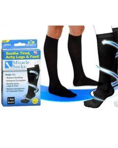 Oem Miracle Socks Unisex Κάλτσες Διαβαθμισμένης Συμπίεσης 1 Ζευγάρι