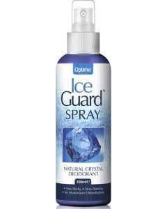 Optima Ice Guard Spray Natural Crystal Deotorant Αποσμητικό με Φυσικό Κρύσταλλο 100ml