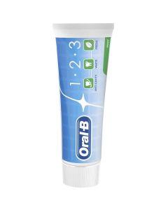 Oral-B 1-2-3 Οδοντόπαστα Κατά Της Τερηδόνας 75ml