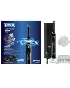 Oral-B Genius 10000N Midnight Black Ηλεκτρική Οδοντόβουρτσα Μαύρη 1τμχ