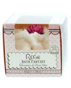 Patisserie De Bain Bath Fantasy Rose Βόμβα Μπάνιου 45g