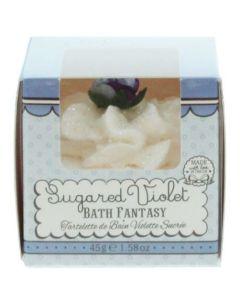 Patisserie De Bain Bath Fantasy Sugared Violet Βόμβα Μπάνιου 45g