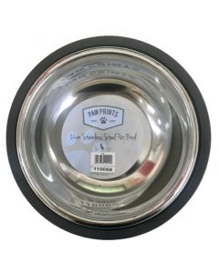 Paw Prints Stainless Steel Pet Bowl Μπολ Φαγητού Για Κατοικίδια 1τμχ