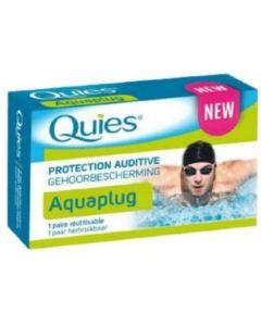 Pharma Quies Aquaplug Ωτοασπίδες Σιλικόνης Για Κολυμβητές 1 Ζεύγος