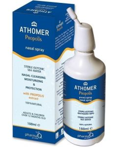 Pharmaq Athomer Propolis Ρινικό Αποσυμφορητικό Spray με Πρόπολη 150ml