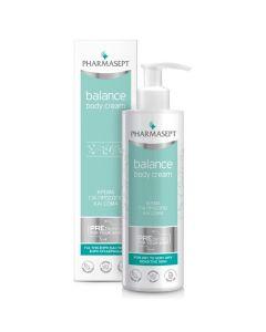 Pharmasept Balance Body Cream Κρέμα Για Πρόσωπο & Σώμα Για Ξηρή/Πολύ Ξηρή Επιδερμίδα 250ml