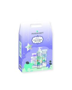 Pharmasept Christmas Gift Baby Care Mild Bath 500ml+ Extra Calm Cream 150ml + Micellar Water 300ml