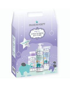 Pharmasept Christmas Gift Baby Care Mild Bath 500ml+ Extra Calm Cream 150ml + Micellar Water 300ml