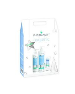 Pharmasept Christmas Gift Hygienic Shower Gel 500ml+ Extra Calm Lotion 250ml +Hand Cream 75ml