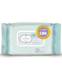 Pharmasept Baby Soft Wipes Special Price Παιδικά Μαντηλάκια Χωρίς Οινόπνευμα Για Τα Χέρια & Το Πρόσωπο 2x30Τμχ