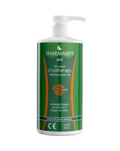 Pharmasept Tol Velvet Cryotherapy Freezing Power Gel 1Lt