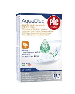 Pic Aquabloc Μετεγχειρητικό Αδιάβροχο Επίθεμα 5Cmx7Cm 5Τμχ