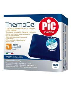 Pic Solution Thermogel 10x10Cm Επαναχρησιμοποιούμενα Μαξιλαράκια Gel για Θεραπεία Ζεστού ή Κρύου 1Τμχ
