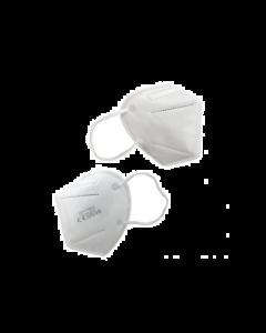 Μάσκα προστασίας FFP2 NR KN95 χωρίς βαλβίδα εκπνοής με Μεταλλικό Έλασμα 20τμχ