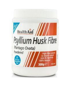 Health Aid Psyllium Husk Fibre Powder Ψύλλιο Σε Σκόνη Για Έλεγχο Του Βάρους, Της Χοληστερόλης & Γενικά Του Εντέρου 300g