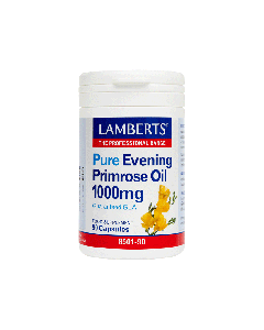 Lamberts Συμπλήρωμα Διατροφής Evening Primrose Oil Gla 1000Mg 8501-90 90Caps